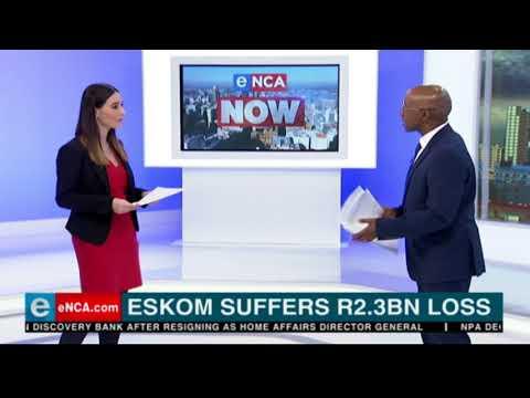 Eskom suffers R2.4-billion loss
