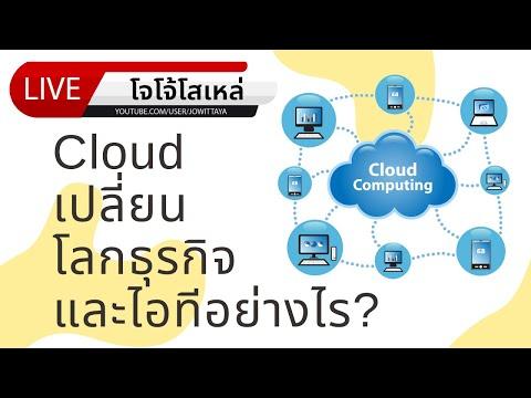 EP.16 Cloud เปลี่ยนโลกธุรกิจและไอทีอย่างไร?