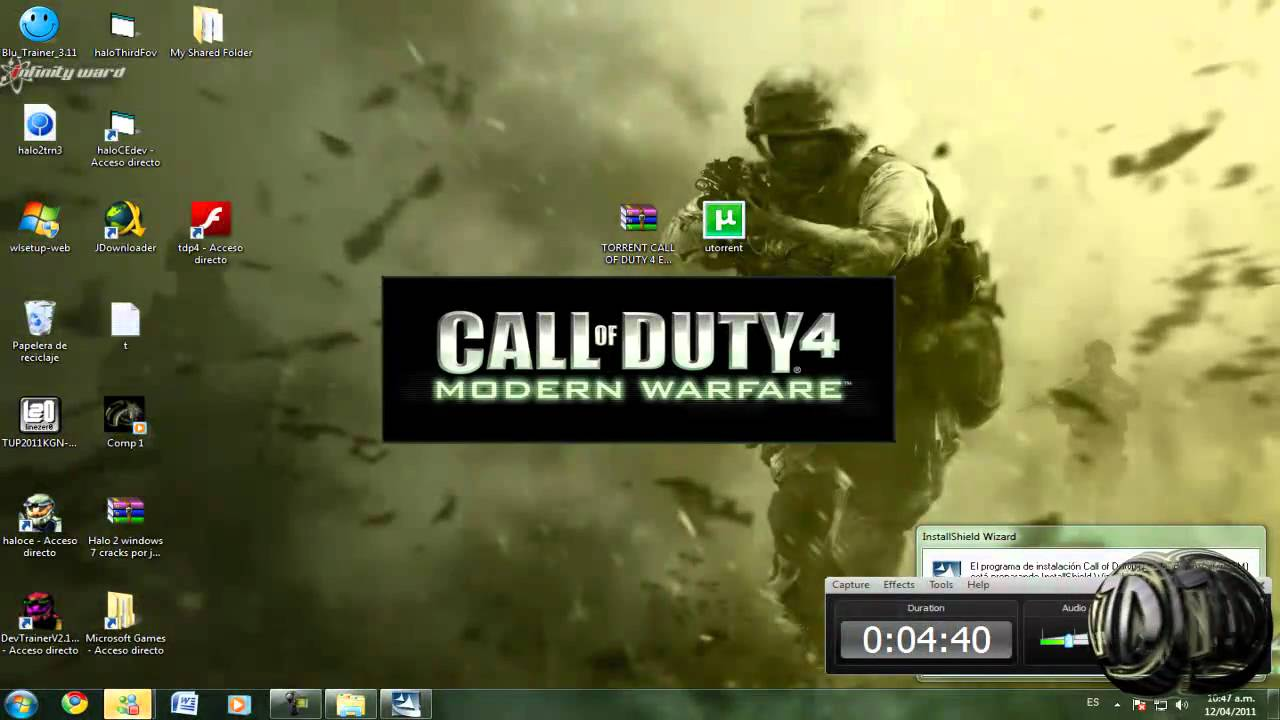 como instalar Call of Duty 4: Modern Warfare en español | FunnyDog.TV