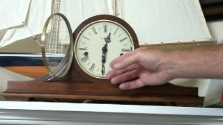 Howard Miller Triple Chime Mantel Clock