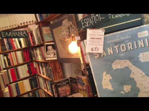 Atlantis Books, Oia, Santorini