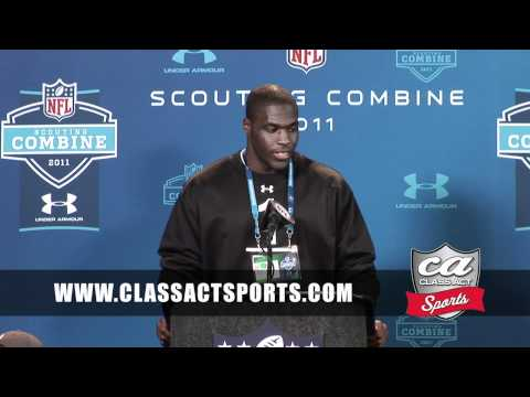 Texas D-Lineman Sam Acho talks about hard work