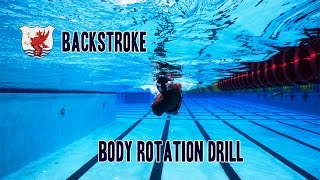 Swimisodes - Backstroke - Body Rotation Drill 4K