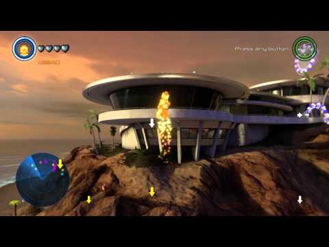 LEGO Marvel's Avengers Malibu All Collectibles Free Roam Gameplay