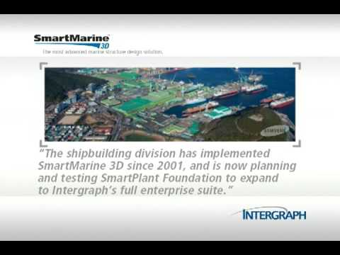 Samsung Heavy Industries uses SmartMarine 3D