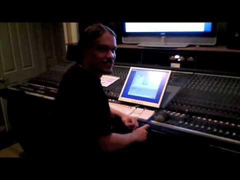 Goatwhore records at Mana Studios part 1