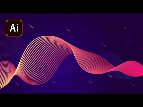 Абстракция в Adobe Illustrator. Blend Tool/Часть 1