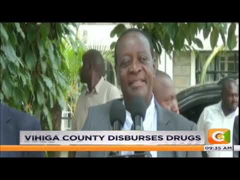 Vihiga County disburses drugs and medical equipment worth 43 million