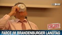 FARCE IM BRANDENBURGER LANDTAG