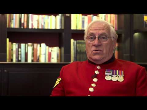 Chelsea Pensioners move in to new Long Wards