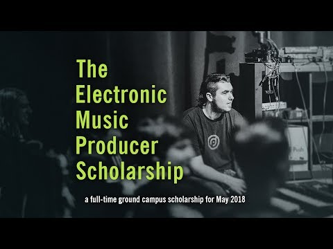 May 2018 Scholarship | Electronic Music Producer Program