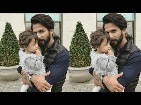Shahid Kapoor's daughter looks supercute with HottyDaddy | Misha's 1st birthday