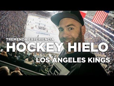 Hockey hielo Los Angeles Kings. Increíble experiencia.