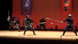 関が原ファンの集い2012 甲冑劇「関が原外伝 高刑の誓い」①