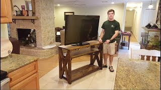 This is a tv stand that I made out of pine. Took me a only a couple days. I hope you enjoyed this video, follow me on facebook! https://