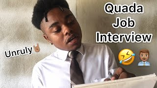 Quada Job Interview | @nitro__immortal
