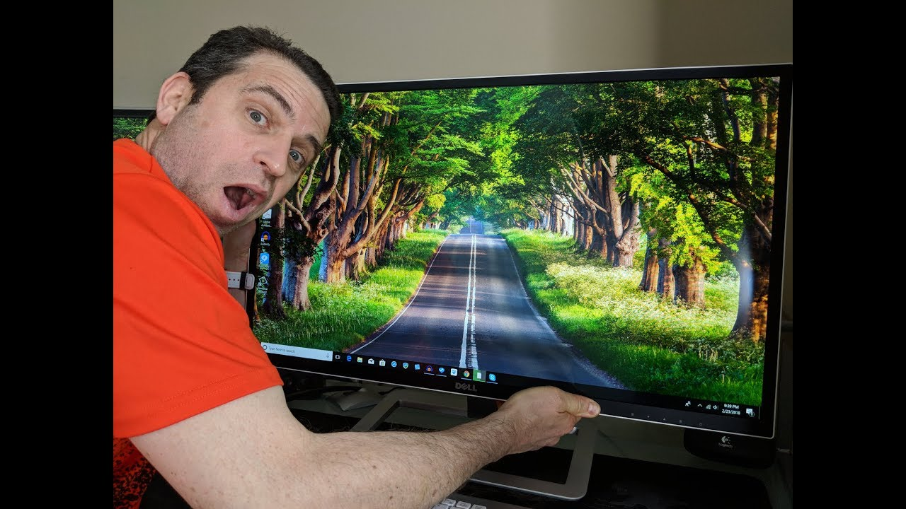 Dell D3218hn Monitor Review And Demo Youtube