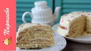 Торт Молочная Девочка с Пломбирным Кремом✧Рецепт Торта на Сгущенке