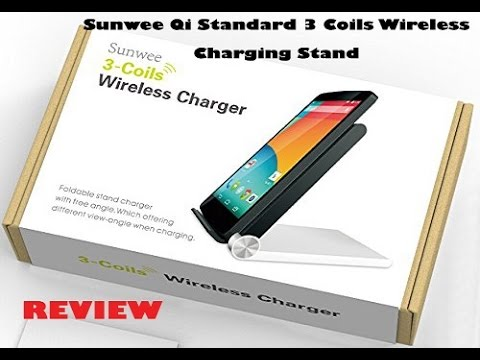 Sunwee Qi Standard 3 Coils Wireless Charging Stand Review
