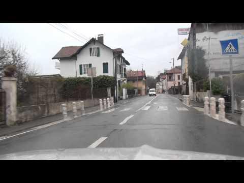 Evian les Bains Petite Grande Rive Torrent Touronde Lac Geneve Frankreich France 4.4.2015
