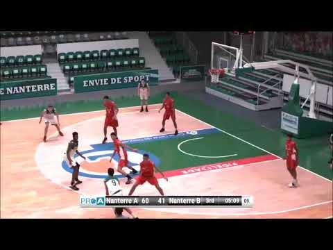 Adem TOUAHRI Saison 2016/2017 U18 LILLE MÉTROPOLE BASKET