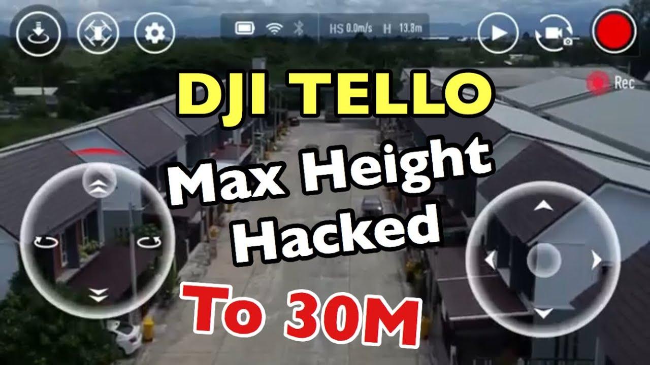 ปลดล็อคความสูง Dji Tello - max Height Hacked to 30m & Xiaomi wifi repeater 2