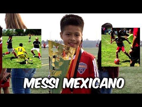 ASÍ JUEGA Alex Alcalá el nuevo MESSI MEXICANO