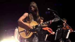 DOTA -  Rauschen live mit Streichern (12.07.2014 Volksbühne Berlin)