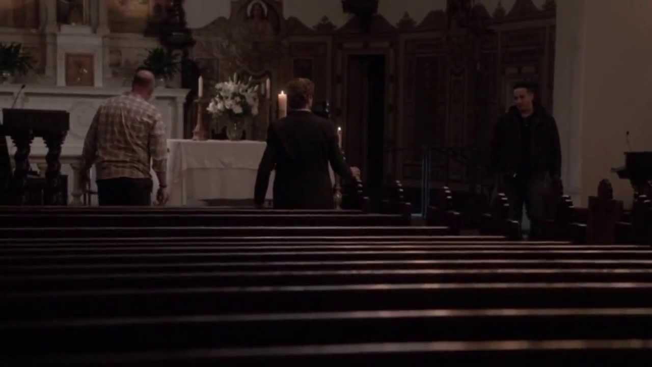 "Download The Mentalist 6x08- Jane, Bertram:""I´m not Red John""(church  scene)"
