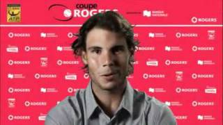 Rafael Nadal Message for Montreal Fans