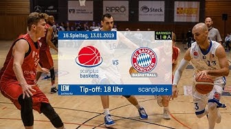 Livestream scanplus baskets vs. FC Bayern Basketball II | BARMER 2. Basketball Bundesliga ProB