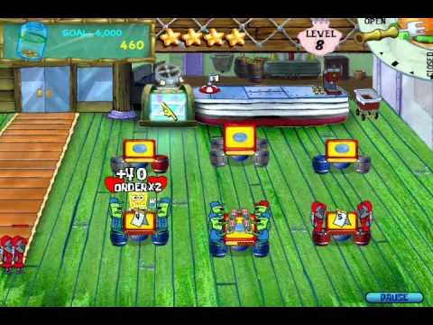 SpongeBob SquarePants Diner Dash (PC) Walkthrough (Part 2)