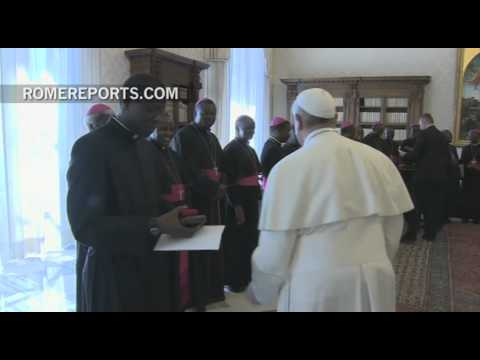 Pope to Tanzanian bishops: The work of evangelization begins at home