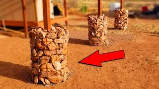 How to Build Gabion Baskets