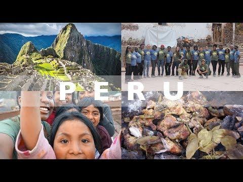 PERU  |  ADRA Trip, Pachamanca, Machu Picchu