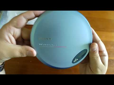 Unboxing The Sony Walkman D Ej775 Portable Cd Player Youtube