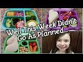 FUN Bento Lunches + What She Ate - LUNCH FAILS - Bento School Lunch Ideas - Bentgo Box - 30th week