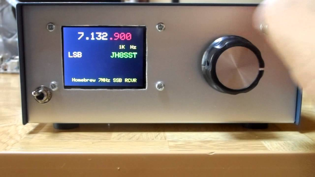 How N6qw 240x320 Color Display Si5351 Vfo Works Jh8sst