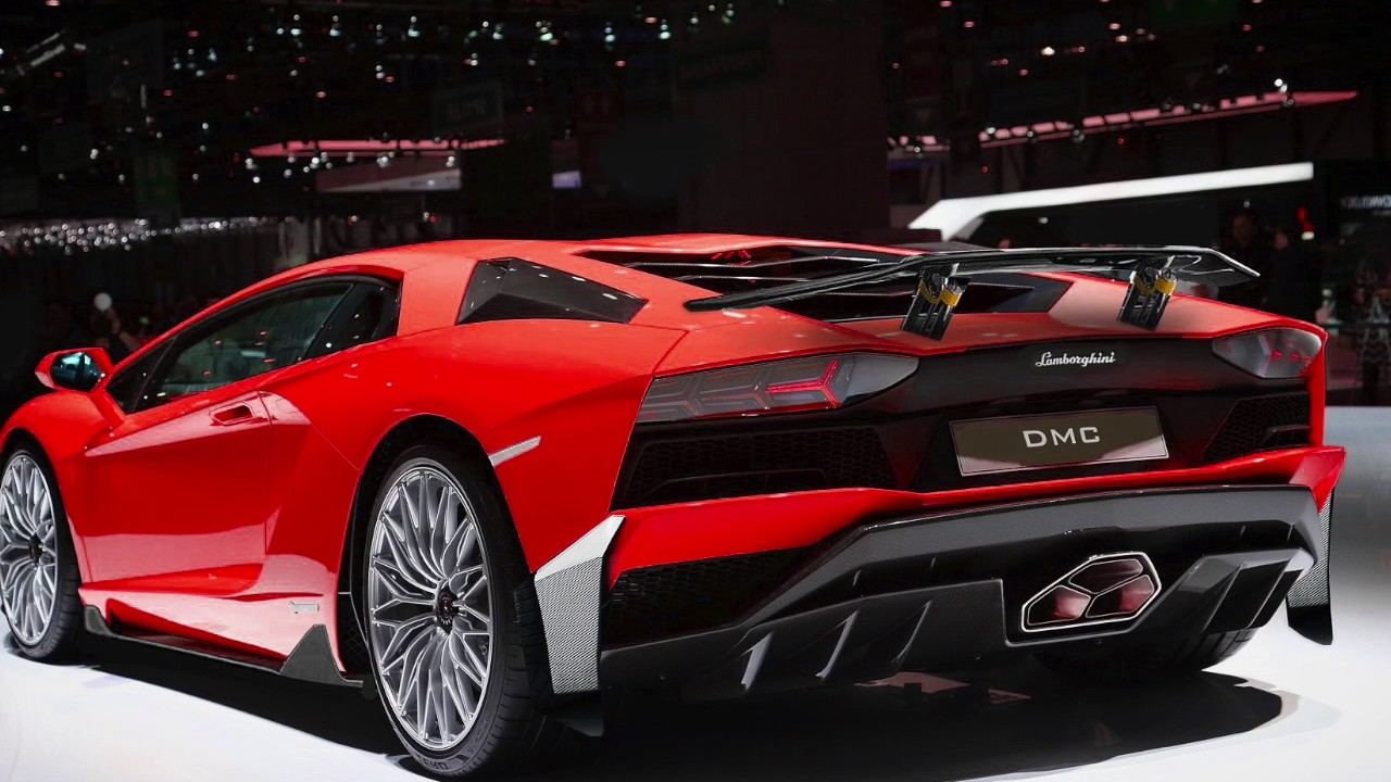 Lamborghini Aventador S Carbon Fiber Wing Spoiler By Dmc