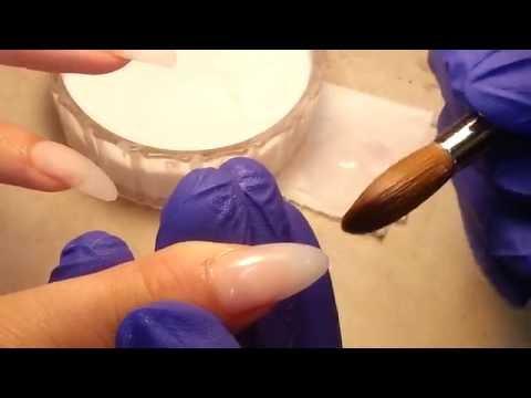 Nghệ Thuật Đắp Móng Bột Acrylic