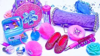 10 Awesome Barbie Hacks and Crafts - Shoes, pencil case, eyeshadow palette