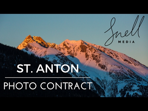 St Anton Travel Photographer Assignment BTS