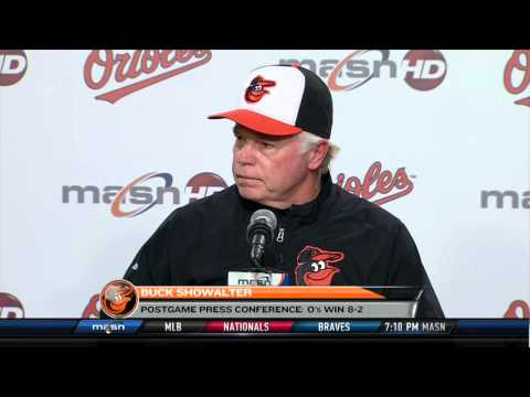 Buck Showalter discusses the Orioles' historic win over the White Sox