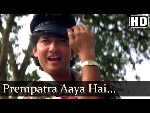 Prempatra Aaya Hai - Avinash Wadhawan - Divya Bharti - Geet - Bollywood Songs - Bappi Lahiri
