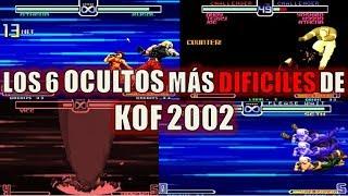 TOP 6: Los Ocultos más DIFÍCILES de Hacer de The King of Fighters 2002