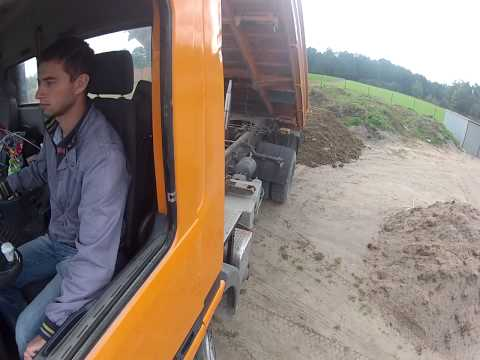 Working on Mercedes Actros 1840 / GoPro Hero 2
