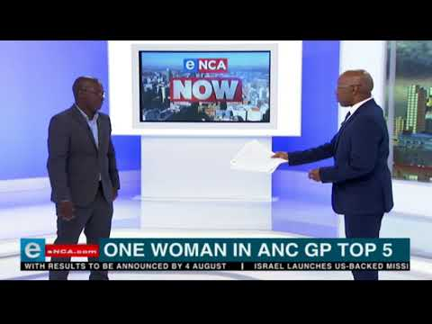 One woman in ANC GP top 5