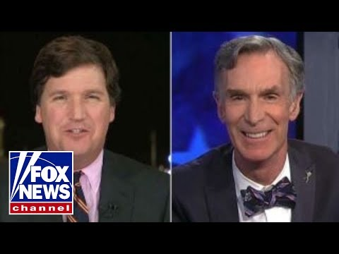 Thumbnail: Tucker vs. Bill Nye the Science Guy