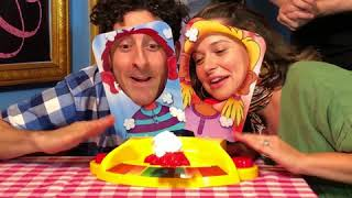 Katie Lowes and Adam Shapiro Play Pie Face Showdown!