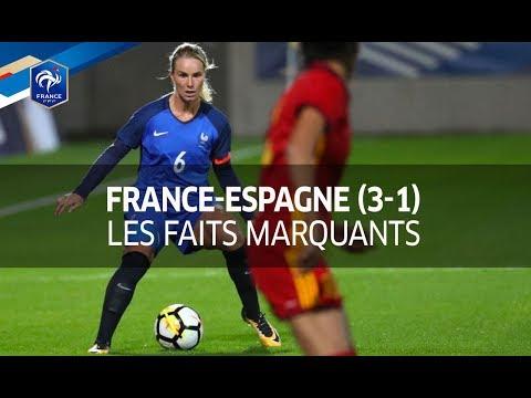 France-Espagne Féminine (3-1) : les faits marquants